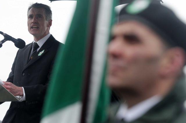Sinn Fein Chairman Declan Kearney