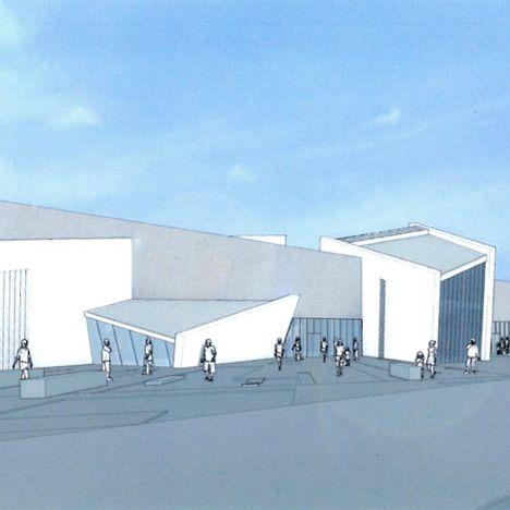 Libeskinds proposed Maze Peace Centre