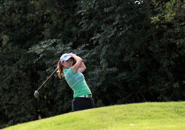Jessica Carty pictured at the Ladies British Amateur Open Strokeplay Championship at Shandon Park golf club.