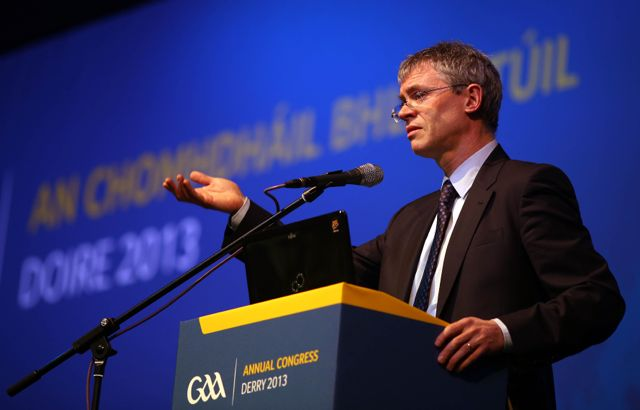 Former Derry star and television pundit Joe Brolly