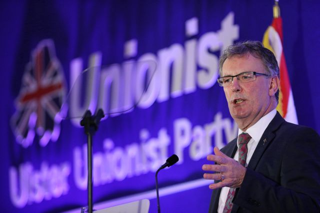 Party leader Mike Nesbitt at the Ulster Unionist Party Conference