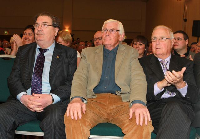 John Hume, Seamus Mallon and the late Eddie McGrady