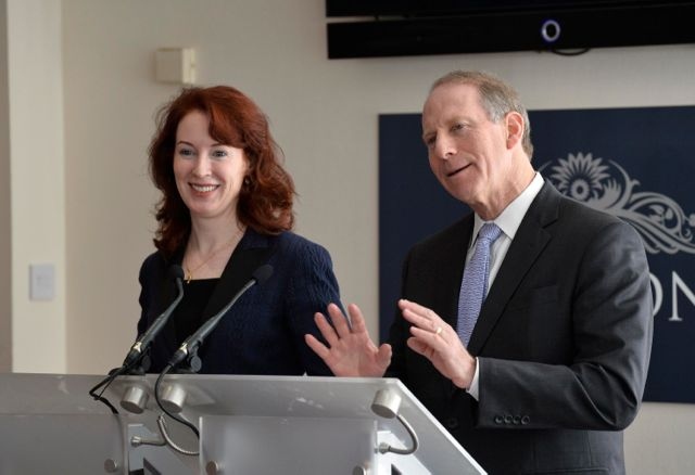 Dr Richard Haass and professor Meghan O'Sullivan