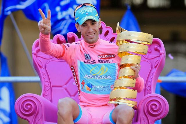 Vincenzo Nibali won the Giro D'Italia in 2013