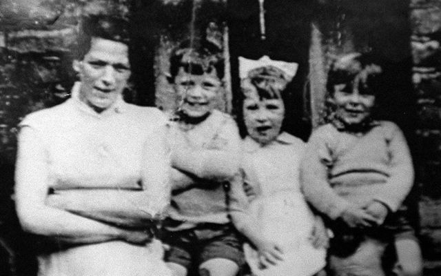 The McConville family pictured above. Image courtesy of PA