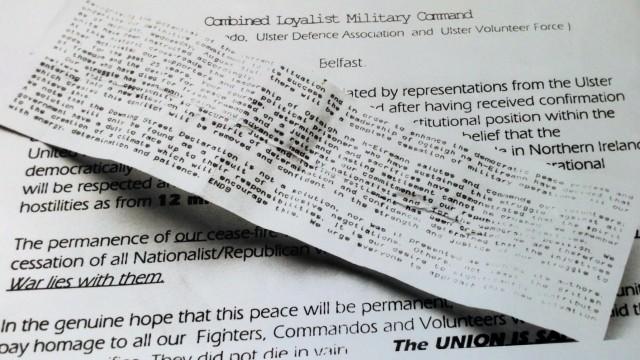 Ceasefire statements 1994