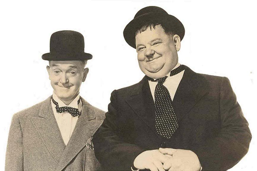 Laurel and Hardy, EamonMallie.com