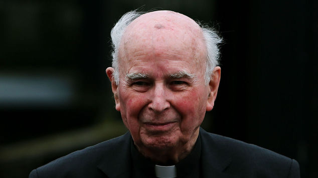Catholic retired Bishop of Derry Edward Daly was described as a fearless peace-builder