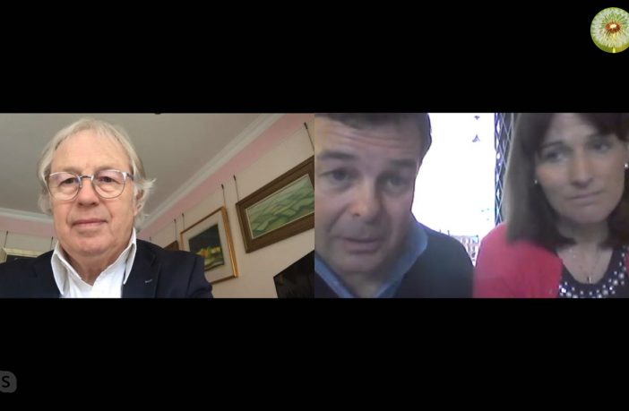Eamonn Mallie talks to Saverio Salvan and Clodagh Ni Nhuiris and